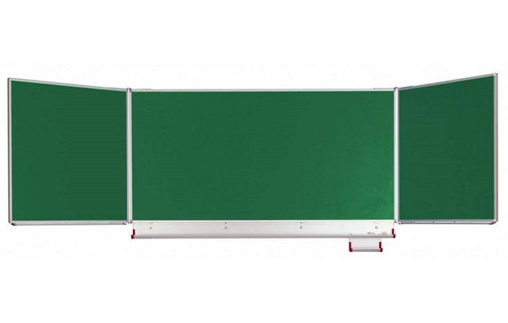 Wandklapptafel Stahlemaille, grün - 1
